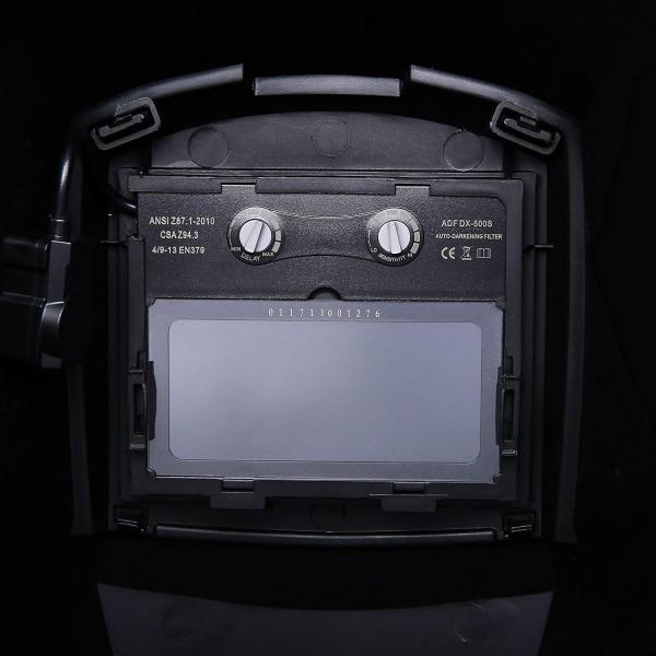 máscara de soldar automática